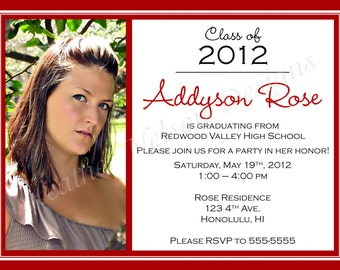 Basic Graduation Announcement
