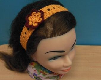 Headband  Crochet Summer Headband Baby Headband  Gifts Hair Accessory  Summer  Headband Crochet Accessorie Good Accessorie Handmade Headband