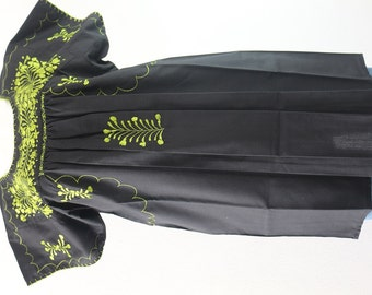 IYYA mini dress HAND EMBROIDERY