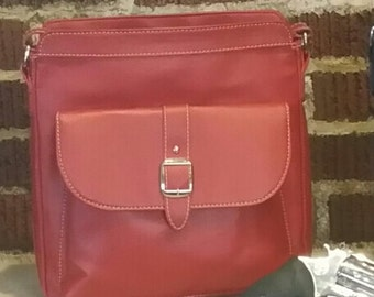 Red Crossover Conceal Carry Purse