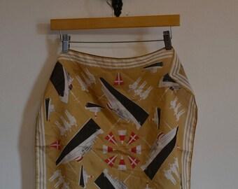 Vintage Sailor Kerchief