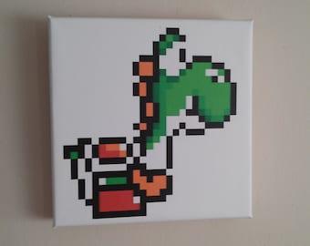 NES 8bit canvas Yoshi