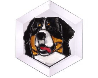 Bernese Mountain Dog Sun Catcher