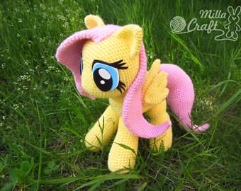 Сute Little Pony Crochet Pattern