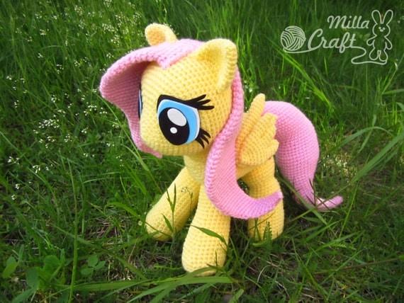 Fluttershy From My Little Pony Crochet Pattern Crochet