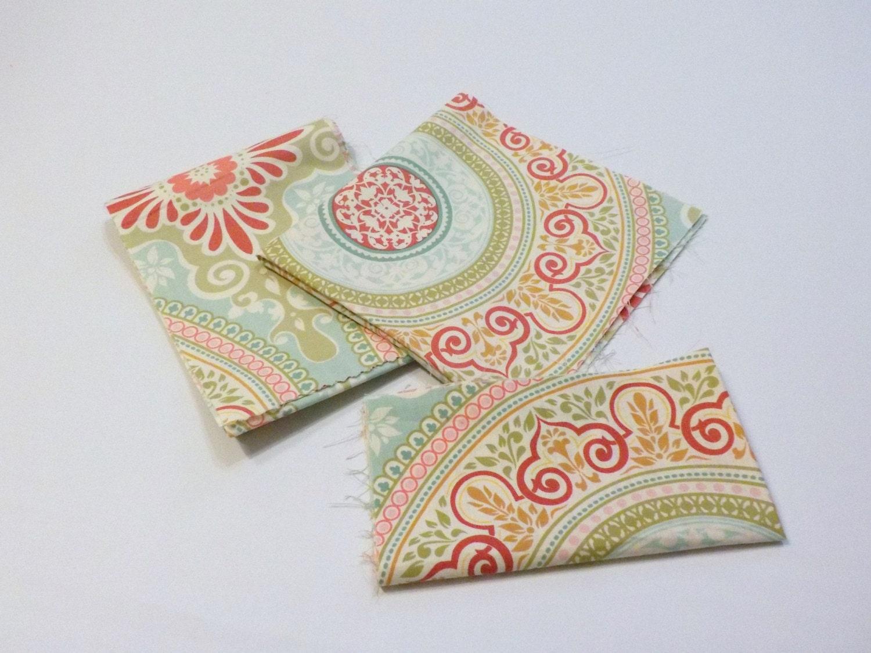 Fabric remnant bundle designer cotton michael miller for Fabric remnants