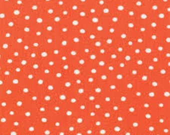 SALE -  ABC Menagerie in Orange Dot by Abi Hall for Moda Fabrics - 39525 16
