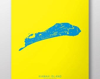 """Kiawah, South Carolina 14"""" x 20"""" Print"""