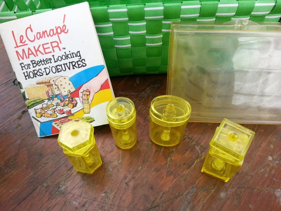 Vintage le canape maker hordoeuvres maker by for Le canape maker