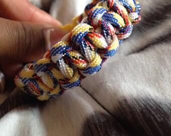 One color cobra stitch bracelet