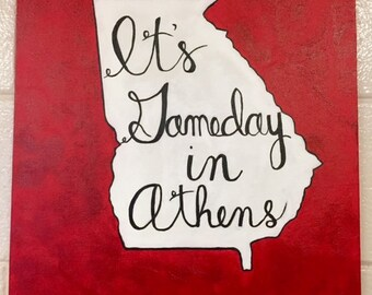 It's Game Day in Athens