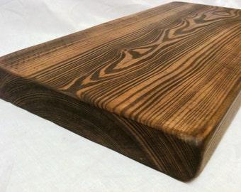 "12""/300mm depth, wooden extra deep floating pine shelf shelves"
