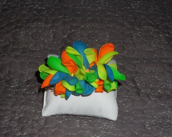 Handmade Balloon Hair Clip/Bow