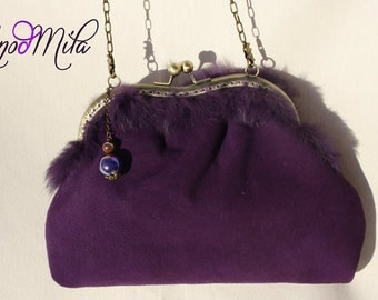 Bag in purple