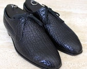 Church's Fighting Seal Exotic Hand Made Shoes / Oxfords Men Sz 9.5 D USA