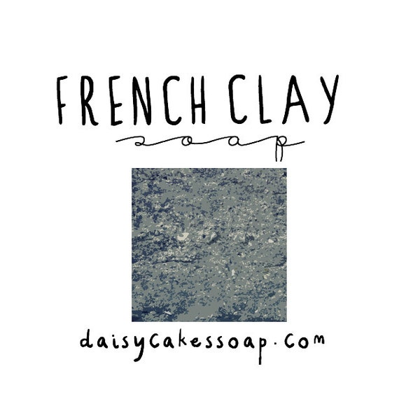 French Clay with Tea Tree, A Natural Face and Body Olive Oil Soap