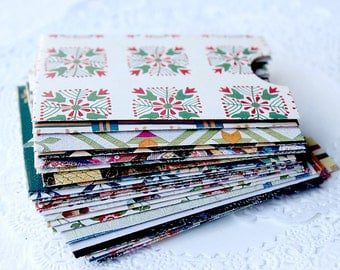 Handmade Envelopes, Gift Card Sleeves, Quilting Envelopes, Handstitch Envelopes, Quilt Images