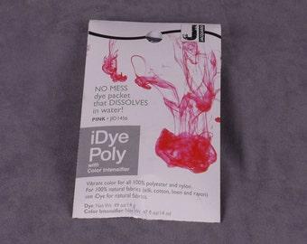 Jacquard iDye Poly Synthetic Fabric Dye - Pink (JAC1456)