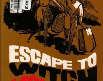 Escape to Witch Mountain - Alexander Key - Leon B. Wisdom Jr - 1968 - Vintage Kids Book