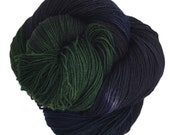 reserved for Brooke Smith, 4 skeins Dainty Sock Yarn, Primordial Ooze, 425yds.