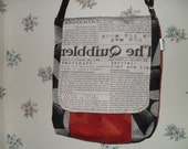 Black and White and Read All Over-The Quibbler-Harry Potter-Messenger Bag