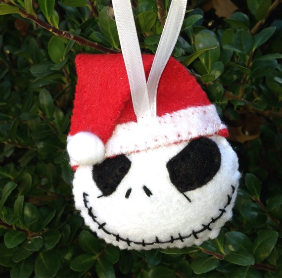 Jack Skellington Christmas Ornament: Nightmare Before Christmas Ornament Christmas Tree