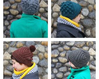 Blazonry Hat Knitting Pattern