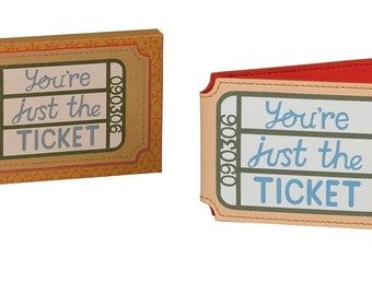 You're just the ticket card holder
