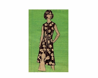 1970s Womens Dress Mail Order 9442 Vintage Sewing Pattern Misses Size 14 Bust 36 UNCUT