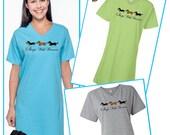Dachshund Sleeps with Wieners Sleep Shirt