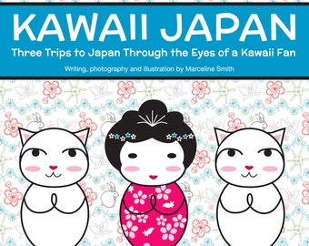 Kawaii Japan PDF zine - travel writing, photography and illustration