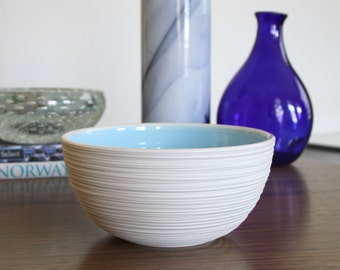 SALE Groove Bowl in Sky Blue - second