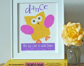 Owl Dance Print