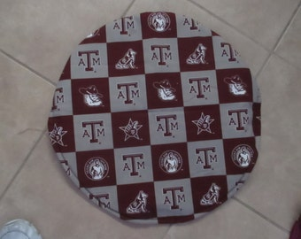 Texas A and M Steering wheel cover