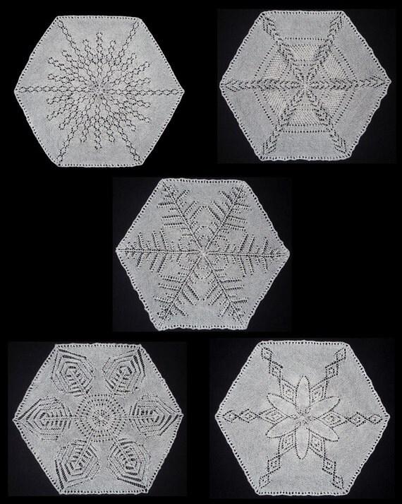Snowflake Lace Knitting Pattern : Snowflake Cape Pdf Lace knitting pattern from CrazyLaceLady on Etsy Studio