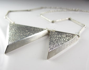 Dramatic Geometric Necklace