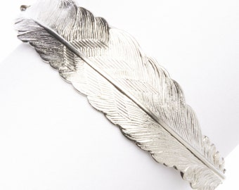 Silver Feather Fly  BRACELET