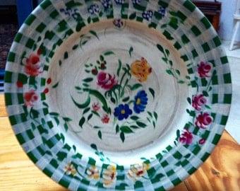 Large Jane Keltner collectable plate