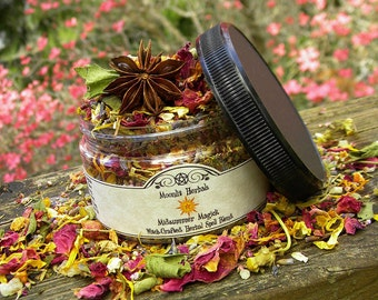 Midsummer Magick - Herbal Blend  - Litha, Summer Solstice, Pagan, Wicca, Wheel of the Year, Floor Sweep, Incense, Potpourri, Offerings