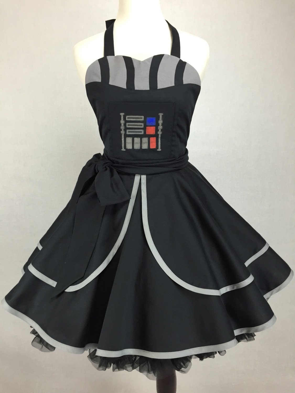 Star Wars Inspired Handmade Darth Apron Full Circle Skirt - photo#26