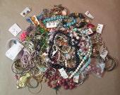Large Jewelry Destash Craft Lot for Repair and Repurposing