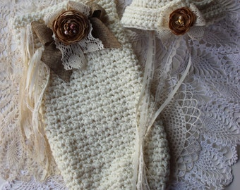 Vintage Inspired Crochet Pattern Crochet Baby Cocoon Cloche Pillbox Hat Crochet Hat Pattern Photo Tutorial  No. 75
