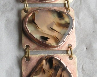 Montana Agate Bracelet.  (148)