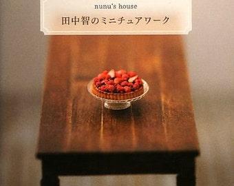 Nunu's House Satoshi Tanaka's Miniature Clay Items Collection - Japanese Craft Book MM