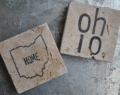 Ohio Magnets or Ornaments. Set of 2. For Him, Her, Host, Hostess, Housewarming