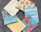 Fabric Destash no. 111 -- 6 Fat Quarters