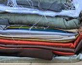 Fabric Destash no. 246 -- Box of Various Silks