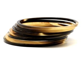 Horn Bangle Bracelets - Q9268