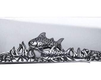 Sterling Silver Fishes Money Clip
