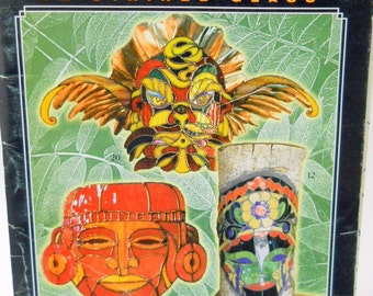 Masks in Stained Glass 20 New Full Size Stained Glass Mask Patterns